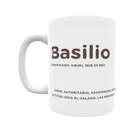 Taza - Basilio