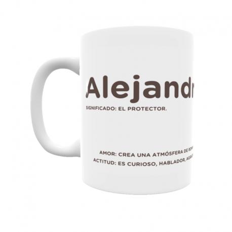 Taza - Alejandro