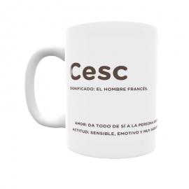 Taza - Cesc