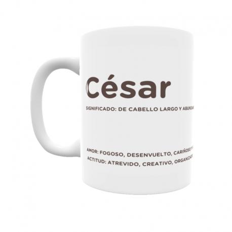 Taza - César