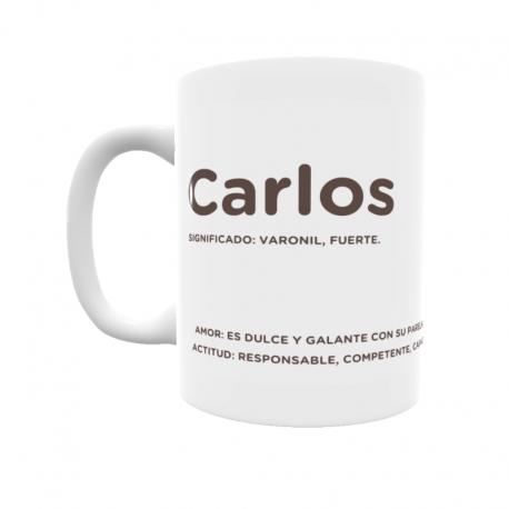 Taza - Carlos