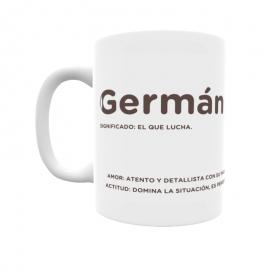 Taza - Germán