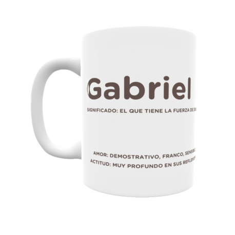 Taza - Gabriel