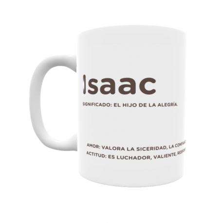 Taza - Isaac