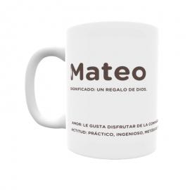 Taza - Mateo