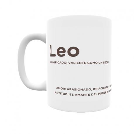 Taza - Leo