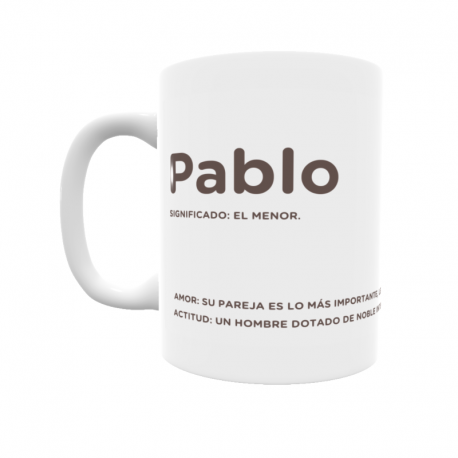 Taza - Pablo