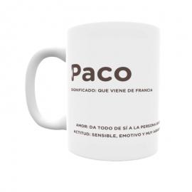 Taza - Paco