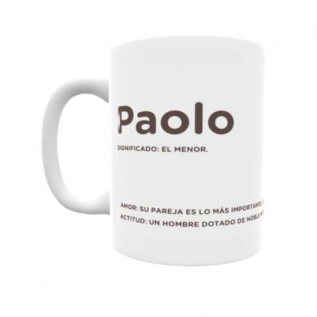 Taza - Paolo