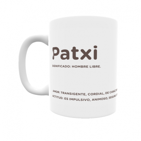 Taza - Patxi