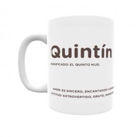 Taza - Quintín