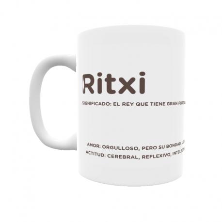 Taza - Ritxi
