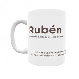 Taza - Rubén