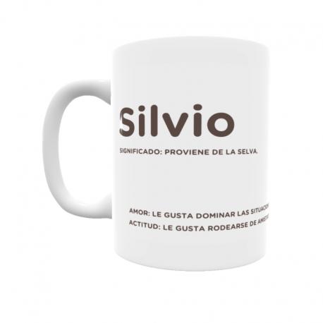 Taza - Silvio