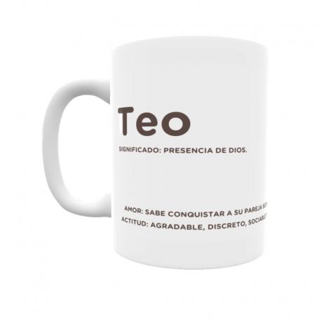 Taza - Teo