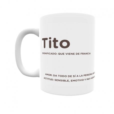 Taza - Tito