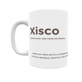 Taza - Xisco