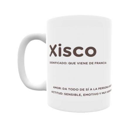 Taza - Xisco