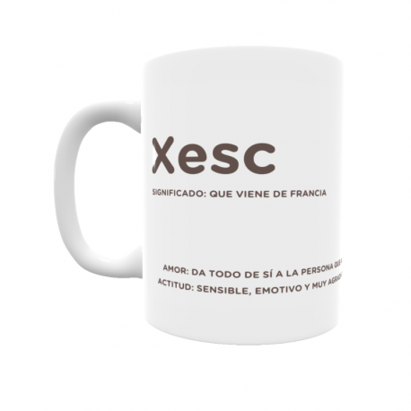 Taza - Xesc