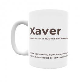 Taza - Xaver