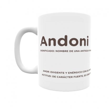 Taza - Andoni