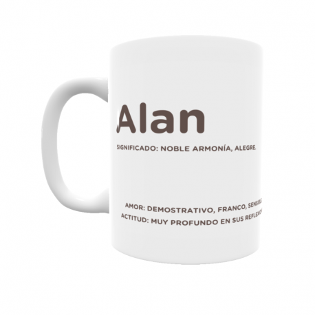 Taza - Alan
