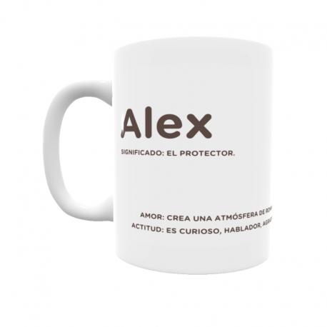 Taza - Alex