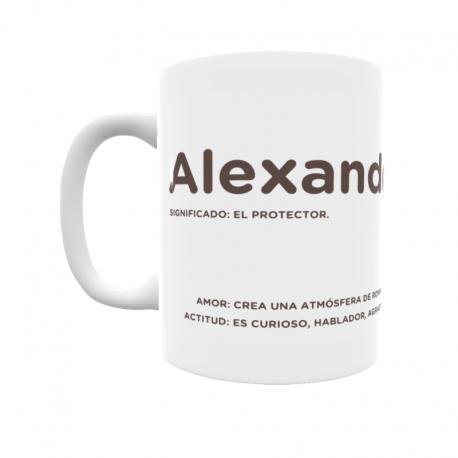 Taza - Alexander