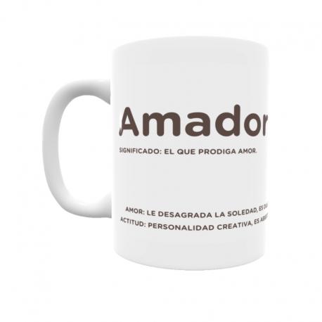 Taza - Amador