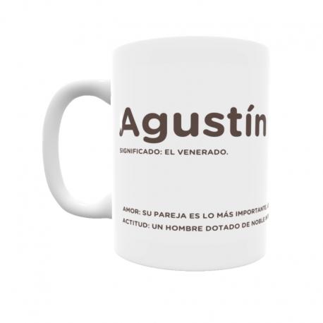 Taza - Agustín