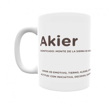 Taza - Akier