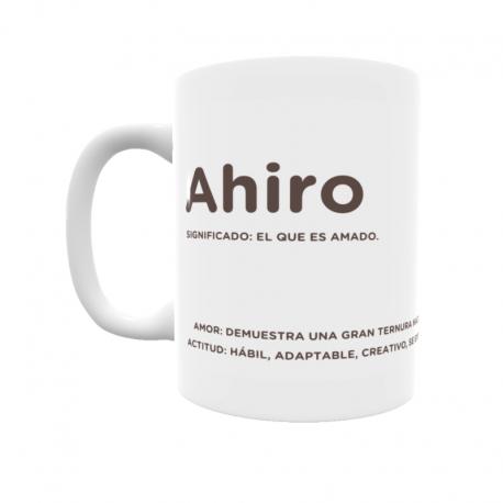 Taza - Ahiro
