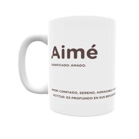 Taza - Aimé