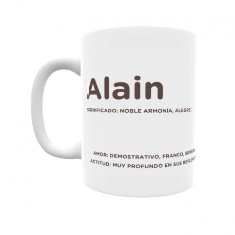 Taza - Alain