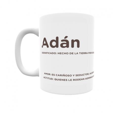 Taza - Adán