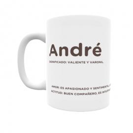 Taza - André