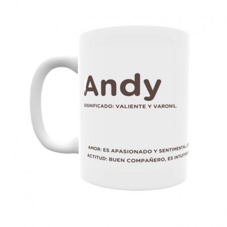 Taza - Andy