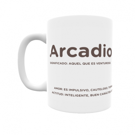 Taza - Arcadio