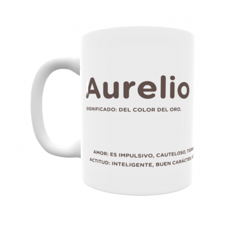 Taza - Aurelio