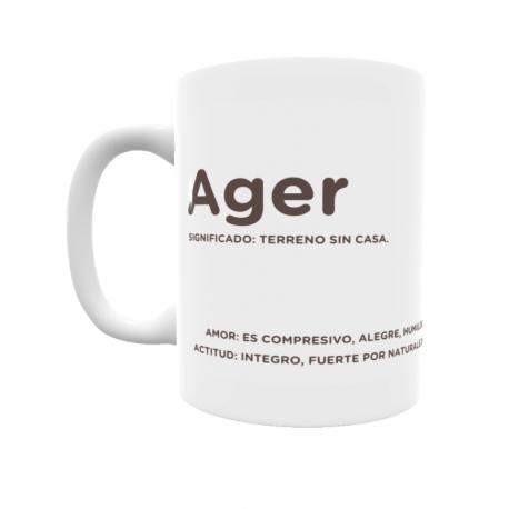 Taza - Ager