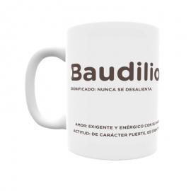 Taza - Baudilio