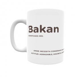 Taza - Bakan