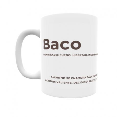 Taza - Baco