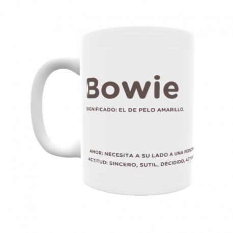 Taza - Bowie