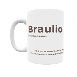 Taza - Braulio