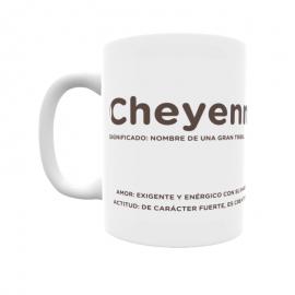 Taza - Cheyenne