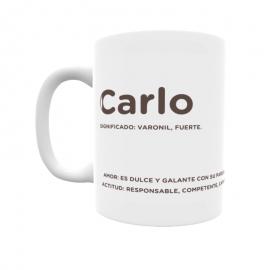 Taza - Carlo
