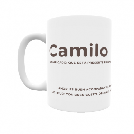 Taza - Camilo