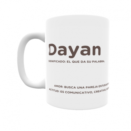 Taza - Dayan