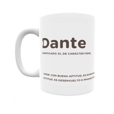 Taza - Dante